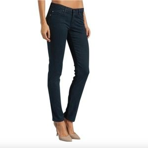 AG Adriano Goldschmied Dark Navy/Teal Jeans